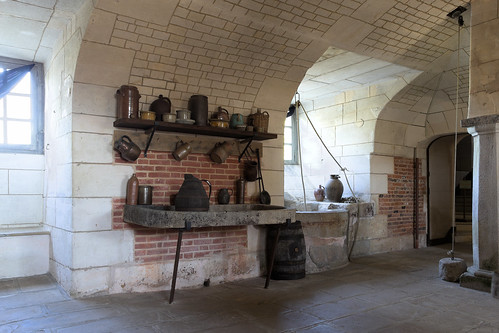 Well in the Kitchen (Château de Beaumesnil)