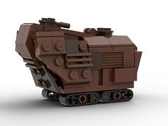 Jawa Sandcrawler - LEGO MOC