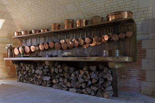 Copperware (Chateau de Beaumesnil)