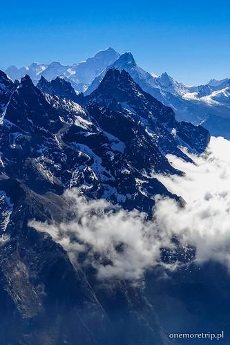 Makalu (8481 m n.p.m.) i Ama Dablam (6856 m n.p.m.)