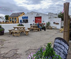 Photo of Beer Garden at the Royal Hotel, Cromarty, September 2020