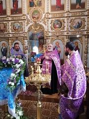 Молебен от вредоносного поветрия в Георгиевском храме г.Хадыженска
