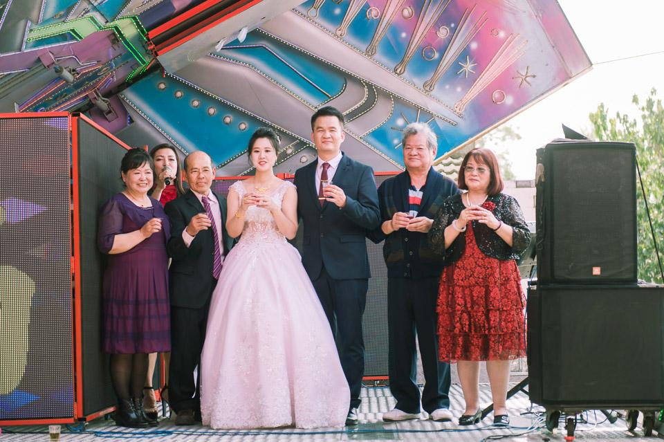 台南婚禮紀錄 D&H 傳統流水席的滿滿人情味 070