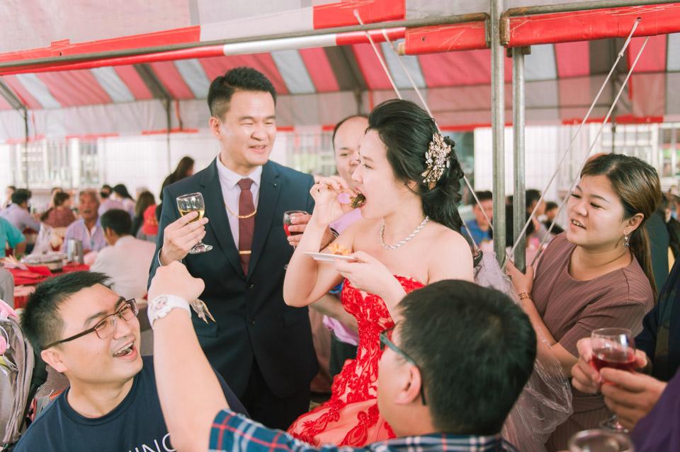 台南婚禮紀錄 D&H 傳統流水席的滿滿人情味 086