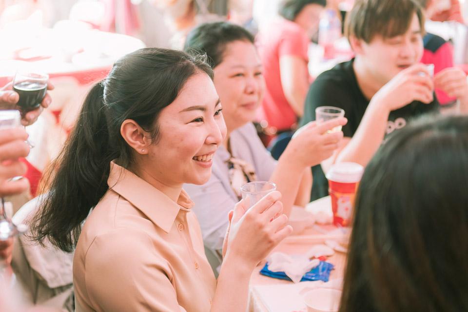 台南婚禮紀錄 D&H 傳統流水席的滿滿人情味 085