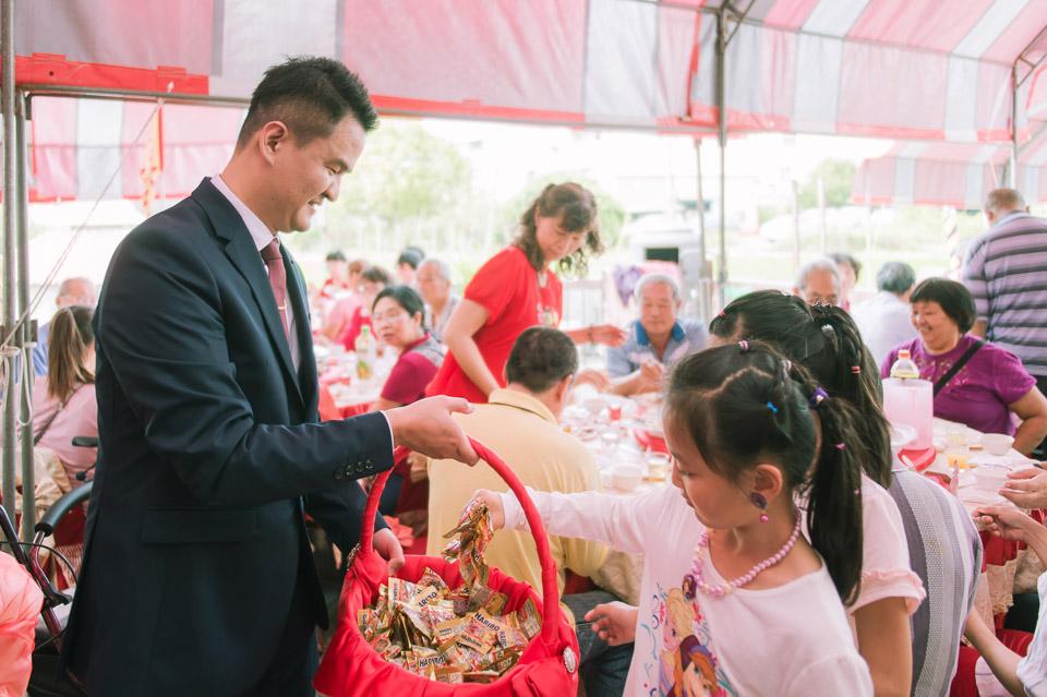 台南婚禮紀錄 D&H 傳統流水席的滿滿人情味 083