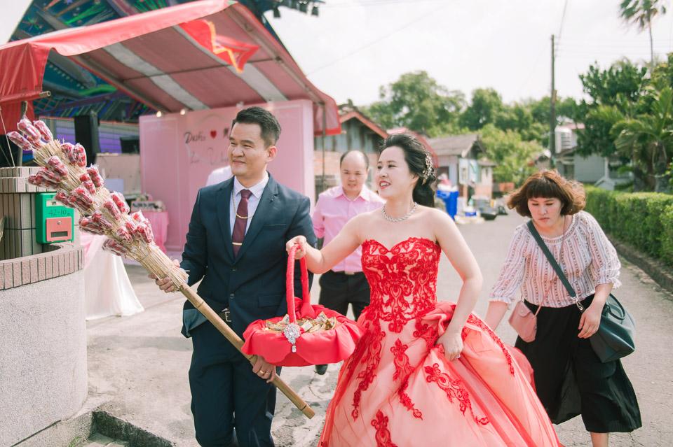 台南婚禮紀錄 D&H 傳統流水席的滿滿人情味 081