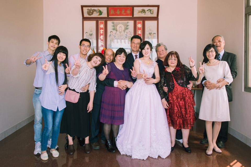 台南婚禮紀錄 D&H 傳統流水席的滿滿人情味 049