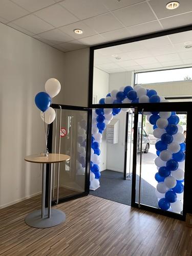 Tafeldecoratie 3ballonnen Diplomering Albeda College Spijkenisse Geslaagd