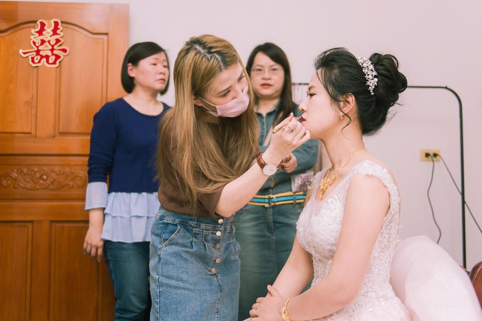 台南婚禮紀錄 D&H 傳統流水席的滿滿人情味 060