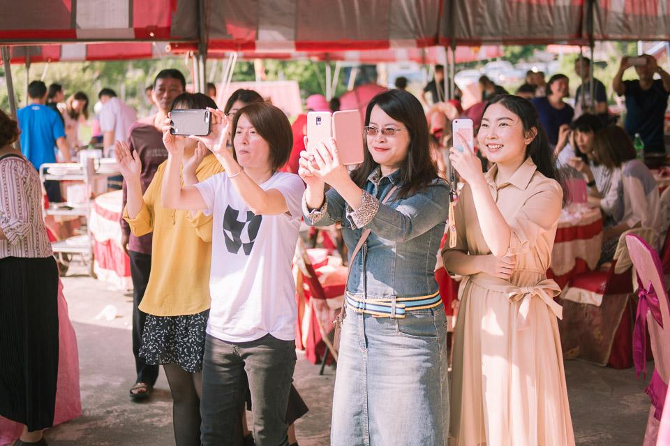 台南婚禮紀錄 D&H 傳統流水席的滿滿人情味 091