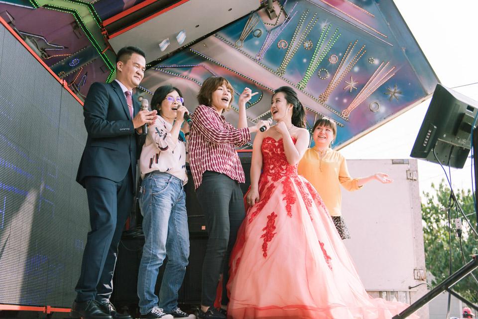 台南婚禮紀錄 D&H 傳統流水席的滿滿人情味 089