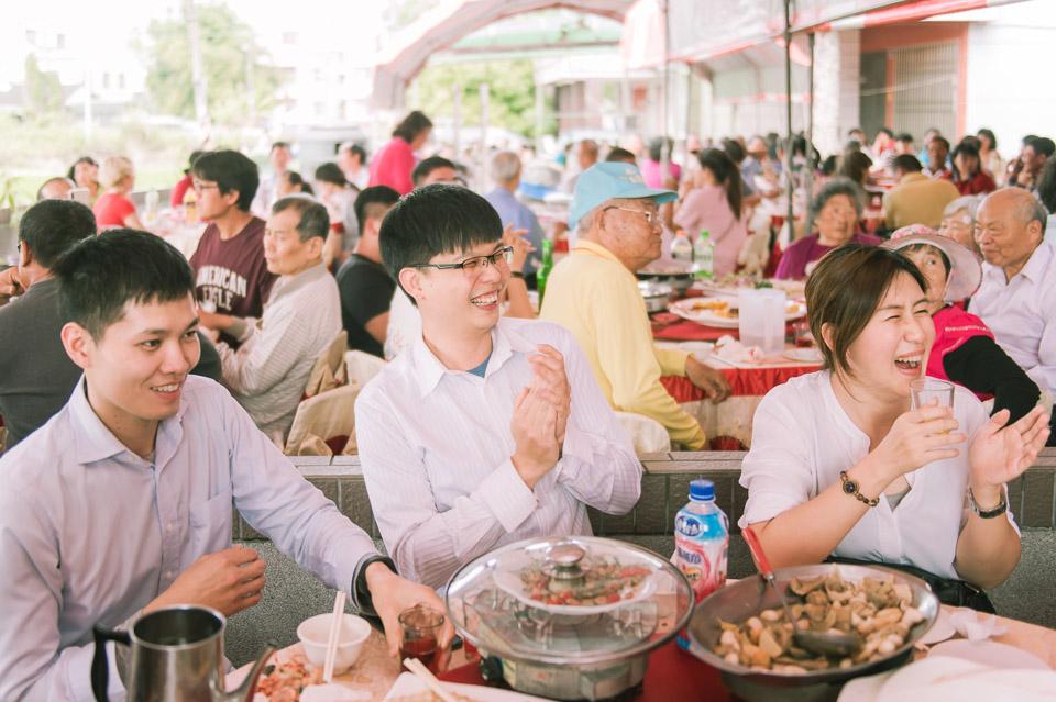 台南婚禮紀錄 D&H 傳統流水席的滿滿人情味 087