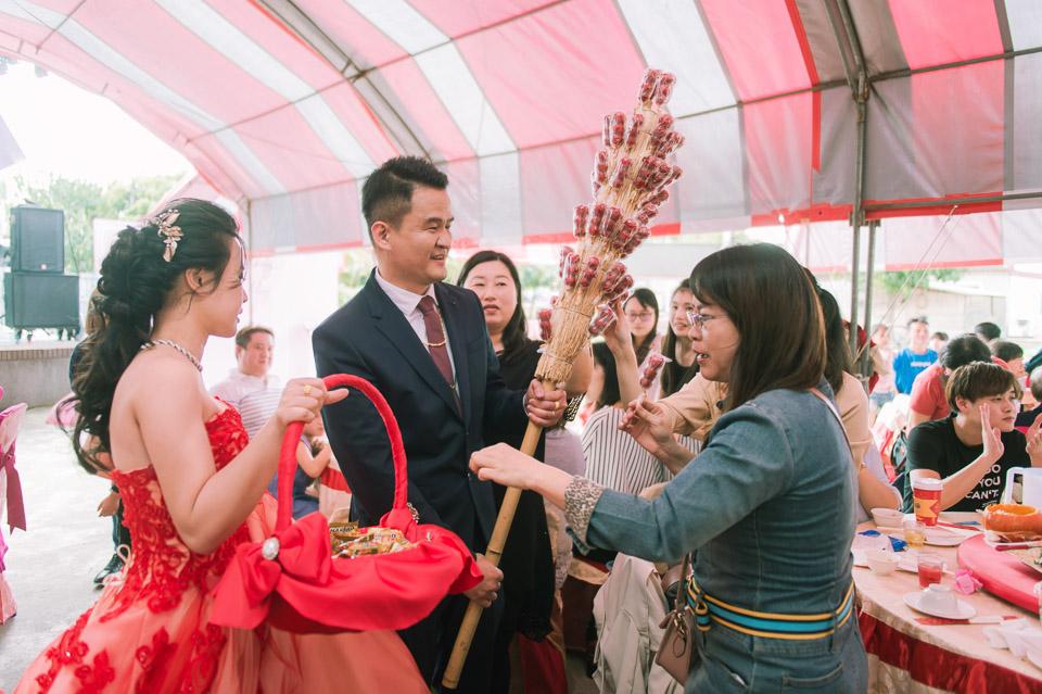 台南婚禮紀錄 D&H 傳統流水席的滿滿人情味 080