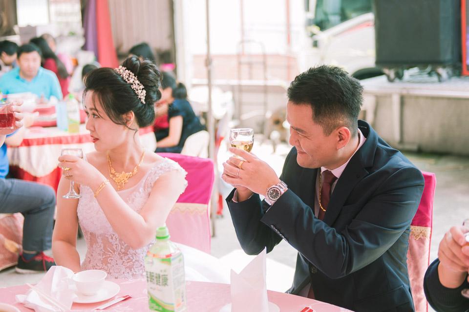 台南婚禮紀錄 D&H 傳統流水席的滿滿人情味 068