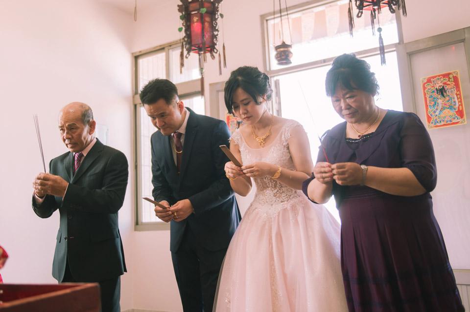 台南婚禮紀錄 D&H 傳統流水席的滿滿人情味 046