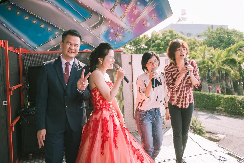 台南婚禮紀錄 D&H 傳統流水席的滿滿人情味 090