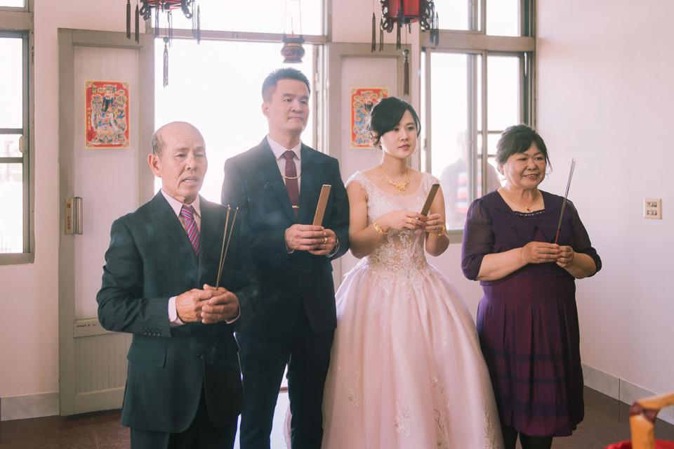台南婚禮紀錄 D&H 傳統流水席的滿滿人情味 045
