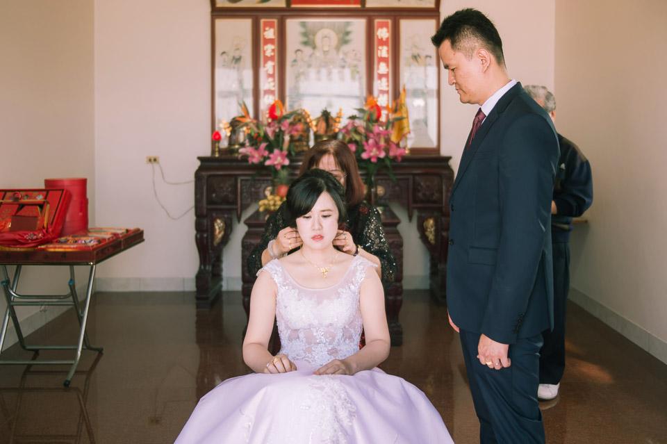 台南婚禮紀錄 D&H 傳統流水席的滿滿人情味 035