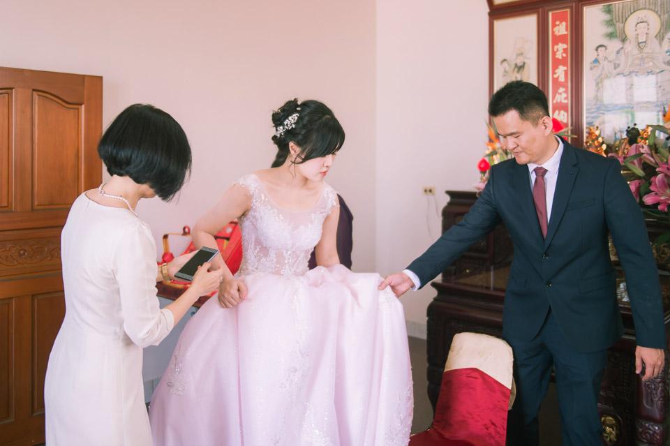 台南婚禮紀錄 D&H 傳統流水席的滿滿人情味 026