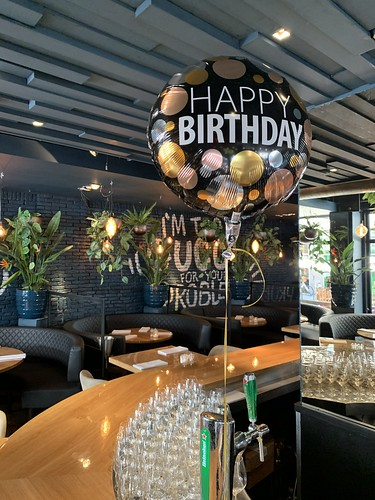 Folieballon Happy Birthday Verjaardag Osyterclub Rotterdam