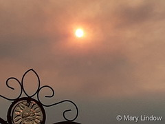 September 6, 2020 - Smoky skies over Thornton. (Mary Lindow)