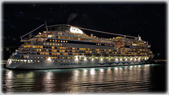 """Port of Call"" ~ Aida Cruise ship docked in Grenada ~"