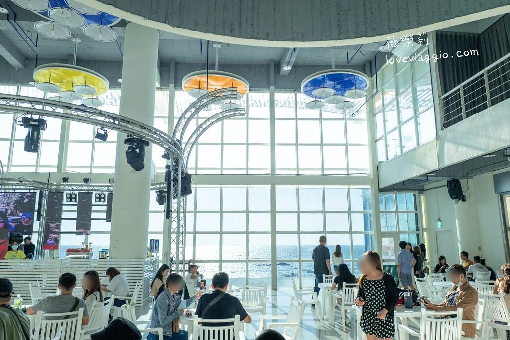 【台南 Tainan】黃金海岸方舟  白色挑高玻璃海景餐廳 絕美拍照景點 @薇樂莉 Love Viaggio | 旅行.生活.攝影