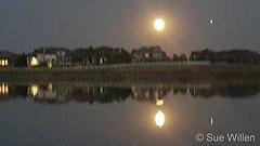 September 1, 2020 - Moonrise in Broomfield. (Sue Willen)