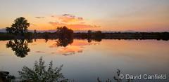 September 4, 2020 - Sunset reflections. (David Canfield)