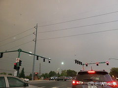 September 6, 2020 - Smoky skies over Thornton. (LE Worley)