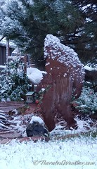 September 8, 2020 - Sasquatch weathers an early season snowfall. (ThorntonWeather.com)