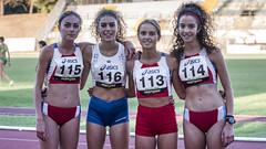Alisia Ripari, Emma Baldoni, Micaela Melatini con Veronica Fagioli