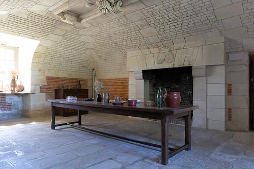 Table (Château de Beaumesnil)