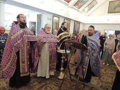 Молебен в Ильинском храме