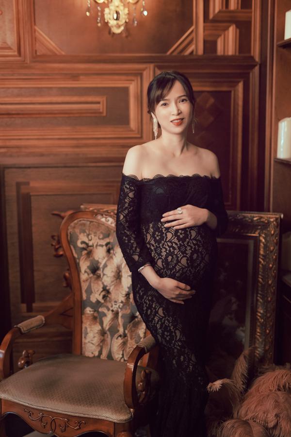 居家 典雅 復古輕鬆駕馭不同風格的你 孕婦寫真