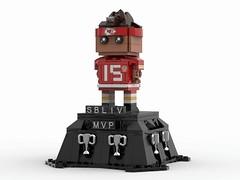 Patrick Mahomes II - LEGO Brickeadz - MVP Edition