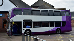 Photo of Stagecoach Enviro 400 in Wisbech