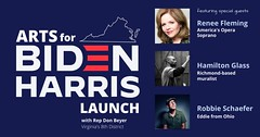 """Arts for Biden Virginia launch event • <a style=""""font-size:0.8em;"""" href=""""http://www.flickr.com/photos/117301827@N08/50328021462/"""" target=""""_blank"""">View on Flickr</a>"""
