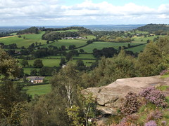 Photo of View from Bickerton Hill, Cheshire, 6 September 2020