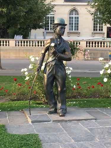 Charlie Chaplin-Denkmal in Vevey