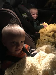 """Luc and Sam in Front-Facing Car Seats • <a style=""""font-size:0.8em;"""" href=""""http://www.flickr.com/photos/109120354@N07/50336484668/"""" target=""""_blank"""">View on Flickr</a>"""