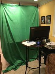 """Derek's Setup to Teach from Home • <a style=""""font-size:0.8em;"""" href=""""http://www.flickr.com/photos/109120354@N07/50336492528/"""" target=""""_blank"""">View on Flickr</a>"""