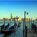 Venedig - Blick auf die Isola di San Maggiore