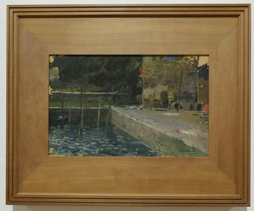 """""""Puerto de Pasajes"""", 1904, Joaquín Sorolla y Bastida (1863-1923), Musée des Beaux-Arts, Bilbao, Biscaye, Pays basque, Espagne."""
