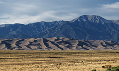 The Wind Blew Across the Prairie Grasses Until It Came To the Mountains (Great Sand Dunes National Park & Preserve)