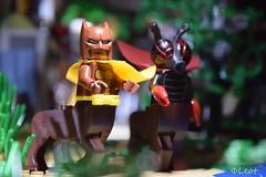 Bat Centaur And Horsefly
