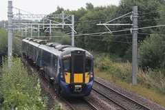Photo of 385040 2N50 09:16 Alloa to Glasgow Queen Street; Millhall Road, Stirling; 13-09-2020