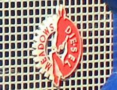Photo of 056 Meadows (Diesel) Badge - History