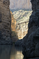 The canyon behind